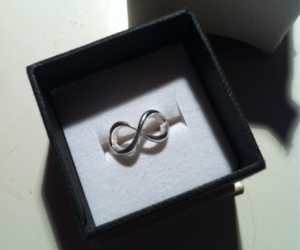infinity, pretty, and ring image