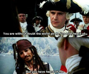 johnny depp, jack sparrow, and quote image
