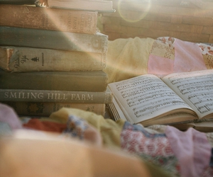 book, sun, and music image