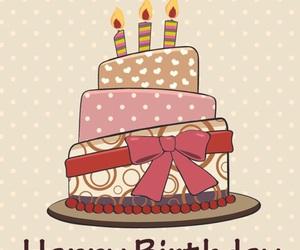 happy birthday, cake, and birthday image