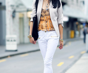 branco, fashion, and look image