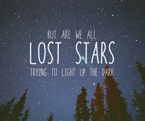 stars, lost stars, and quotes image