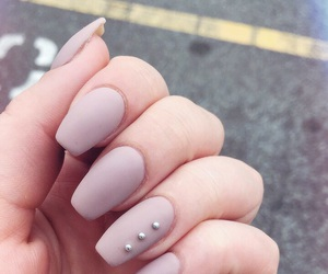 nail art, nails, and girl image