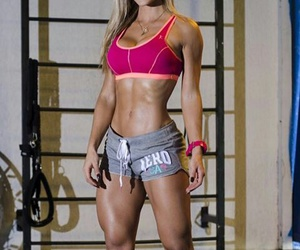 abs, beautiful, and fitness image