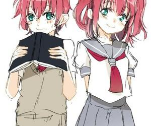 anime girl, beautiful, and child image