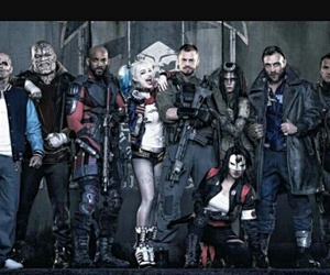 suicide squad, deadshot, and harley quinn image
