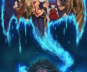 fairy tail, acnologia, and sting image