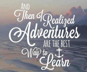 adventure, learn, and travel image