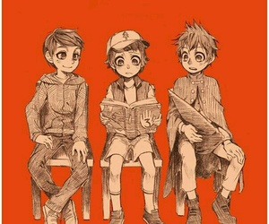marco, gravity falls, and wirt image