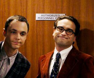 the big bang theory, sheldon cooper, and leonard image