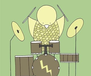 birds and drums image