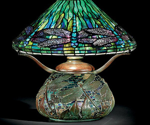 exquisite, 1905 tiffany, and dragonfly lamp image