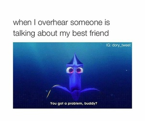bff, dory, and funny image