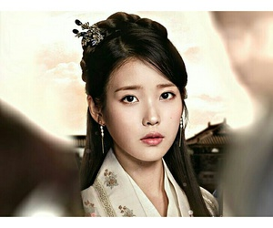 iu, lee ji eun, and moon lovers image