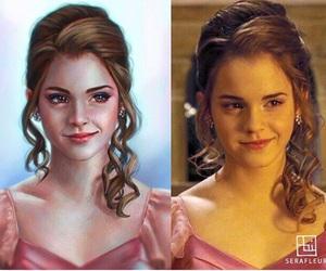 art, emma watson, and hermione granger image