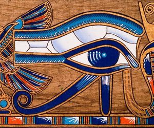 egypt and eye image