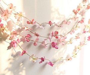 etsy, flower garland, and rustic wedding decor image