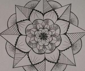 mandala, my work, and finished image