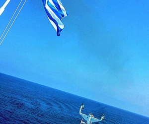 Greece, mediterranean sea, and proud image