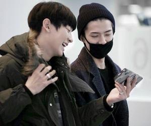 chanyeol, exo, and sehun image