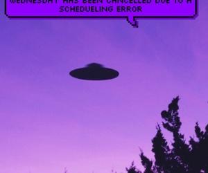alien, purple, and violet image
