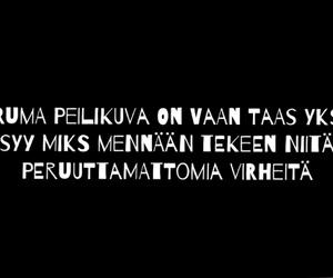 finnish, suomeksi, and masennus image