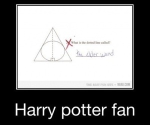 harry potter, funny, and geometry image