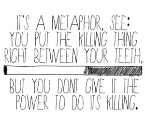 metaphor, the fault in our stars, and tfios image