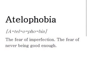 quotes, fear, and imperfection image