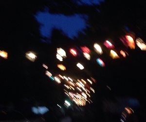 blurry, vintage, and blurry lights image