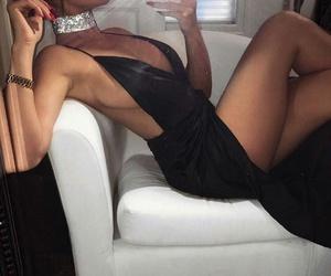 black, body, and dress image