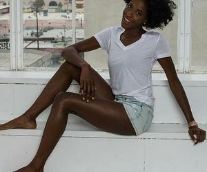 ebony, girl, and model image