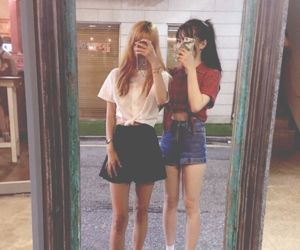 girl, asian, and kfashion image