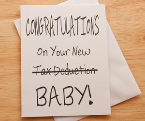 announcement, baby card, and congratulations image