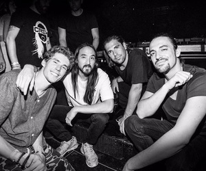 dj, steve aoki, and like mike image