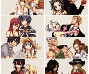 evergreen, fairy tail, and gajeel redfox image