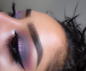 brands, highlighter, and makeup image