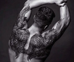 boys, bodyink, and tattoo image