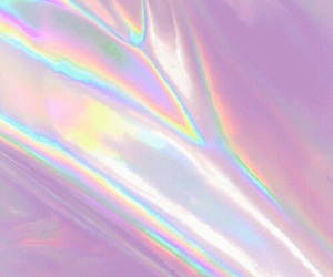 grunge, holographic, and pink image
