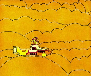 yellow and yellow submarine image