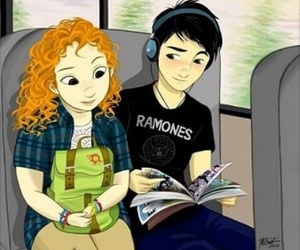 books, couple, and eleanor y park image