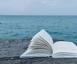 book, sea, and indie image