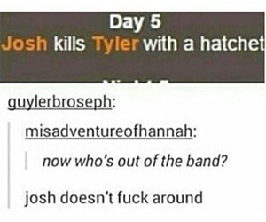 twenty one pilots, josh dun, and tyler joseph image