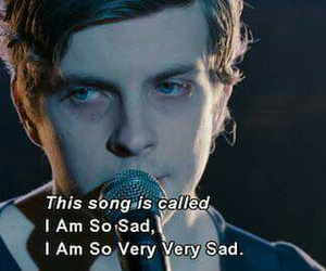 sad, song, and quotes image