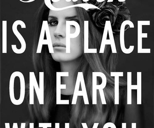 lana del rey, heaven, and quote image