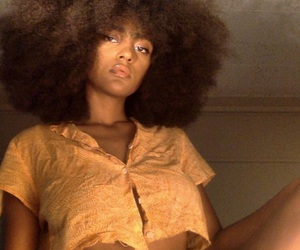 Afro, cool, and face image