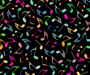 colorful, music, and pattern image