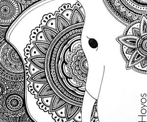 mandala and elephant image