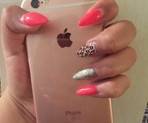 animal print, pink, and iphone 6s image