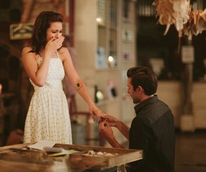 couple, happiness, and marriage proposal image